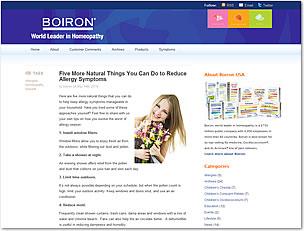 Boiron Blog
