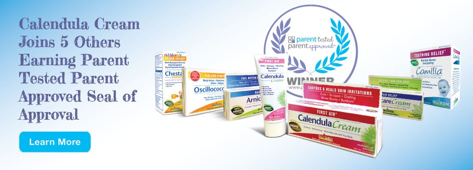 Calendula joins ranks of 5 other Boiron Medicines by earning PTPA Seal of Approval