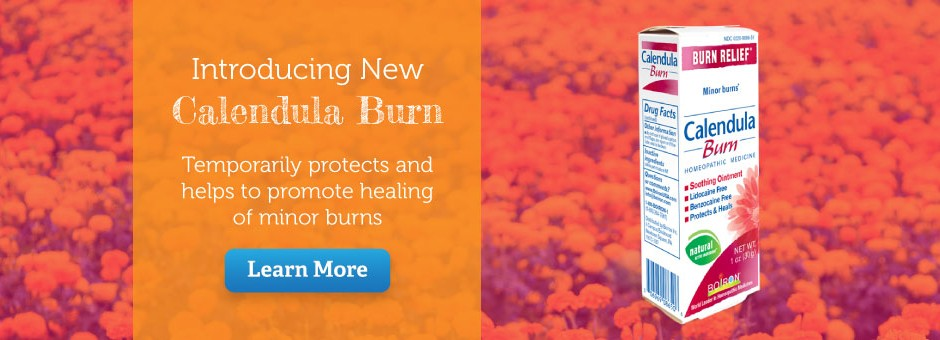 Introducing New Calendula Burn - Learn More