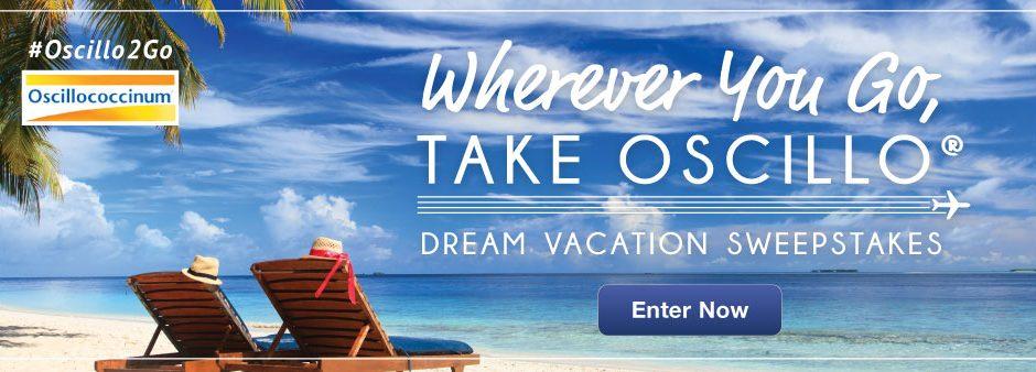 Wherever You Go, Take Oscillo - Dream Vacation Sweepstakes - Enter Now